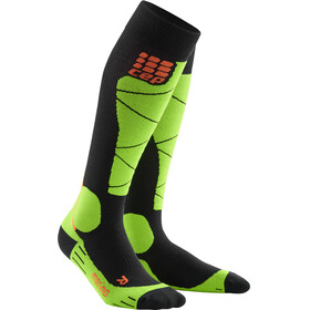 cep Merino Ski Socks Men black/lime